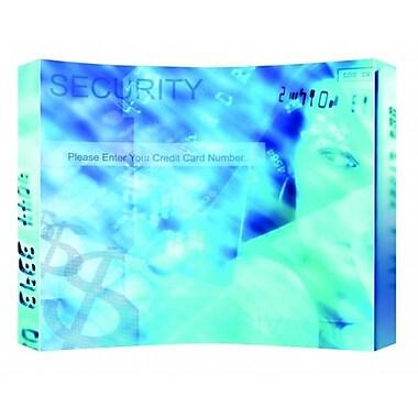 Testrite Visual Products Presto Pop-Up Frames 4x3 Curved Presto Pop Up- Silver (TTVSP195)