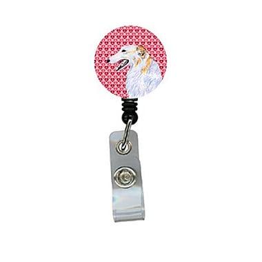 Carolines Treasures Borzoi Retractable Badge Reel Or Id Holder With Clip (CRlT29566)