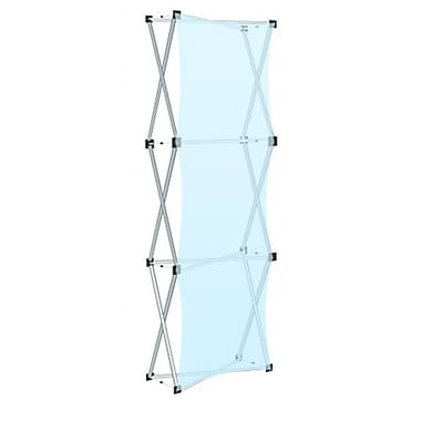 Testrite Visual Products Collage Pop-Up Frames 1 x 3 Collage Pop Up- Silver (TTVSP138)