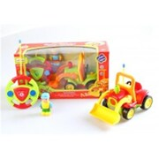 Az Import and Trading Cartoon RC Construction Truck for Toddlers Green, 4 in. (AZIMPT02345)