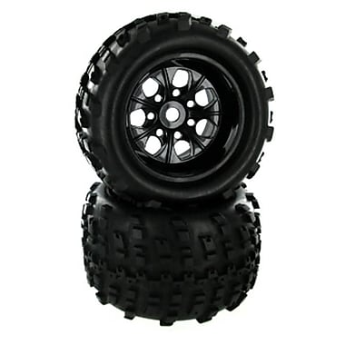 Redcat Racing Tire and Wheel Package Fits Avalanche (RCR01527)