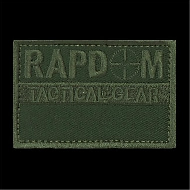RapDom Canvas Patch, Olive (RDOM1581)