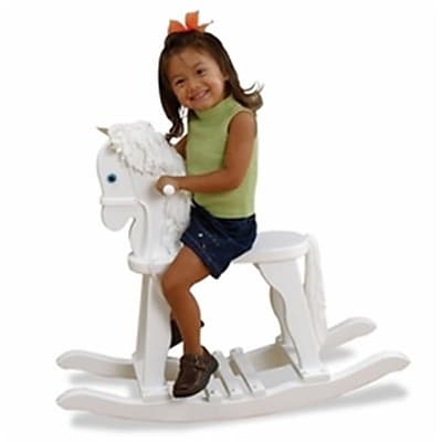 Kid Kraft Derby Rocking Horse - White (KK339) 2628923