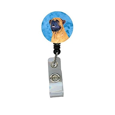 Carolines Treasures Mastiff Retractable Badge Reel Or Id Holder With Clip (CRlT28022)