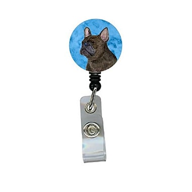 Carolines Treasures French Bulldog Retractable Badge Reel Or Id Holder With Clip (CRlT28013)