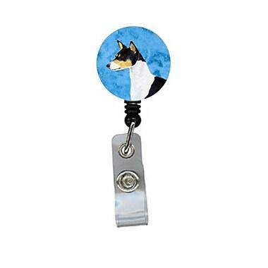 Carolines Treasures Basenji Retractable Badge Reel Or Id Holder With Clip (CRlT27953)
