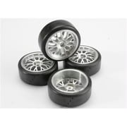 Traxxas Protrax 12Mm Slick Mounted Tires (RCTRA4873)