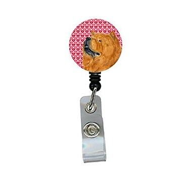 Carolines Treasures Chow Chow Retractable Badge Reel Or Id Holder With Clip (CRlT29755)