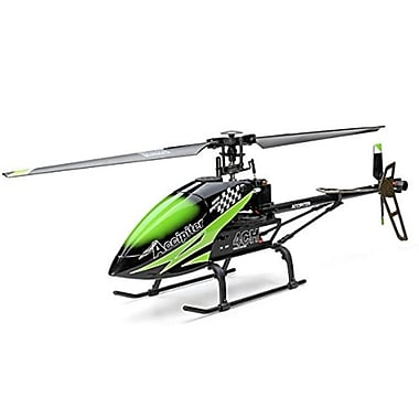 CIS 067C 28 in. 3 and 4 Channel 2.4 GHz Single Blade Flybarless Helicopter with 6 Axis Gyro and lipo (CISA004)