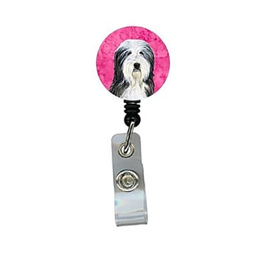 Carolines Treasures Bearded Collie Retractable Badge Reel Or Id Holder With Clip (CRlT27345)