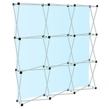 Testrite Visual Products Collage Pop-Up Frames 3 x 3 Collage Pop-Up- Silver (TTVSP141)