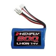 Redcat Racing 7.4V 800 mAH li-ion Battery with Mini Tamiya Connector (RCR03299)