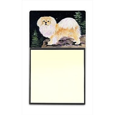 Carolines Treasures Starry Night Tibetan Spaniel Refiillable Sticky Note Holder or Postit Note Dispenser (CRlT60484)
