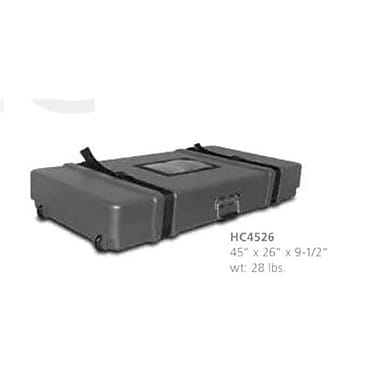 Testrite Visual Products Travel Bags and Cases Hard Case- Black (TTVSP108)