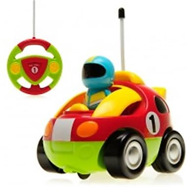 Az Import and Trading Cartoon RC Race Car for Toddlers - 4 in. (AZIMPT02349)