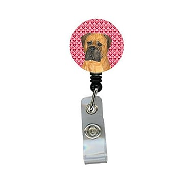 Carolines Treasures Bullmastiff Retractable Badge Reel Or Id Holder With Clip (CRlT29871)