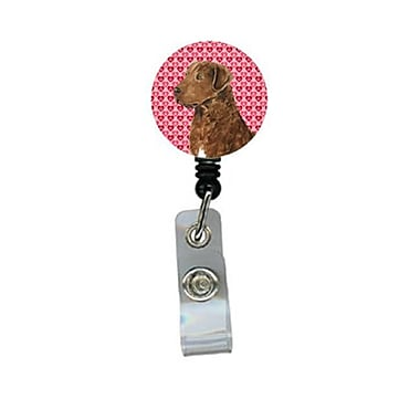 Carolines Treasures Chesapeake Bay Retriever Retractable Badge Reel Or Id Holder With Clip (CRlT29932)