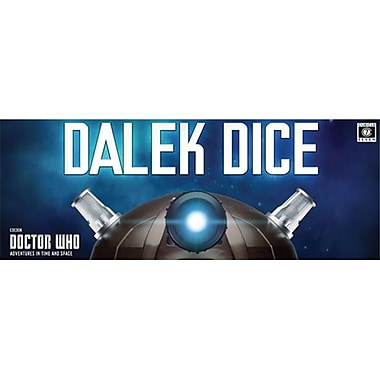 Cubicle 7 2110 Dr. Who - Dalek Dice (ACDD14535)