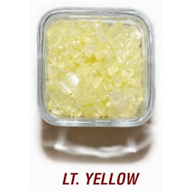 SANDTASTIK PRODUCTS INC. ICE20lBlYlW 20 lB. BOx OF 410 lIGHT YEllOW COlORED ICE (STTP155)