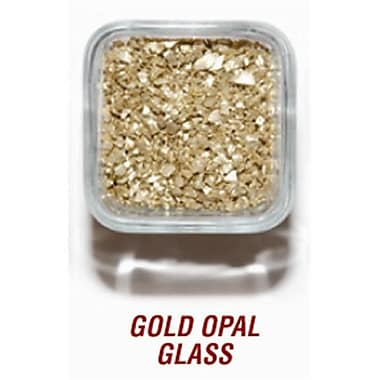SANDTASTIK PRODUCTS INC. ICE20lBGOlD 20 lB. BOx OF GOlD OPAl GlASS (STTP153)