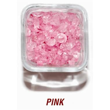 SANDTASTIK PRODUCTS INC. ICE20lBPNK 20 lB. BOx OF 410 PINK COlORED ICE (STTP158)