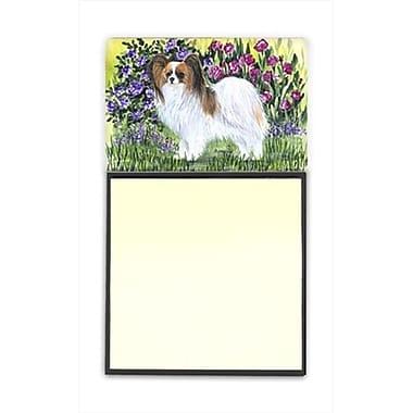 Carolines Treasures Papillon Refiillable Sticky Note Holder or Postit Note Dispenser (CRlT60401)