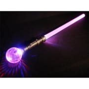 WeGlow International light Up Jumbo Crystal Ball Sword - Set Of 2 (WGlI038)