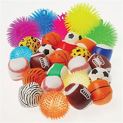 US Toy Company Ball Asst/72-Pc (1 Packs Of 72) 2635836
