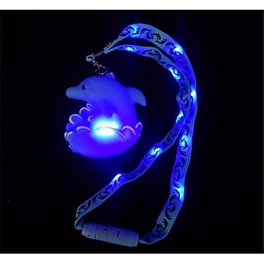 WeGlow International light Up Splash Dolphin Jumbo Drop and Necklace - Set Of 2 (WGlI072)