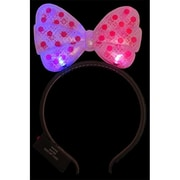 WeGlow International light Up Red Hair Bow Bopper - Set Of 5 (WGlI061)