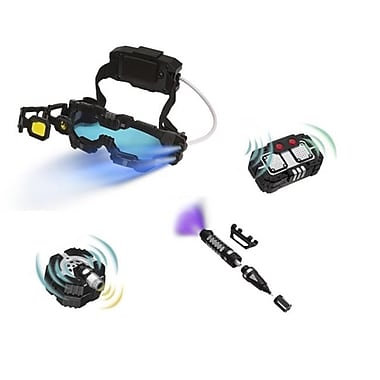 MukikiM llC Night ranger Set: Night Mission Goggles-Micro Motion alarm-Voice disguiser-Invisible ink Pen (MUKM035)