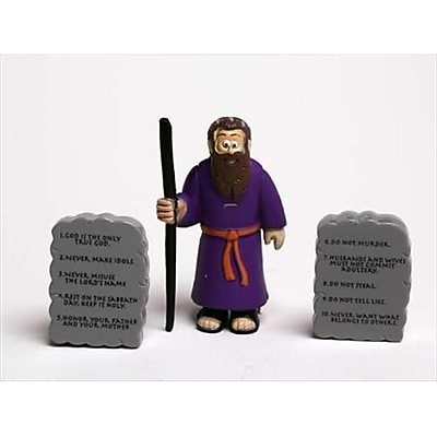 Renewing Minds Toy Action Figure Beginners Bible Moses And Commandments (ANCRD40805) 2635882