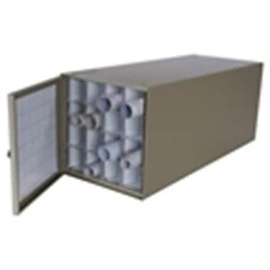 Adir Stackable Steel Roll File 16 Comp. for Blueprints (ADIRCN028)