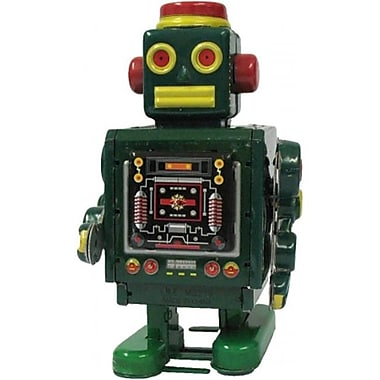 SHAN Collectible Tin Toy - Robot Green (AxNRT1827)