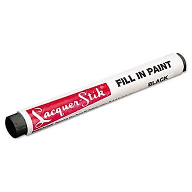 Mrk lacquer-Stik Fill-In Paint Marker, Black (AZTY10044)