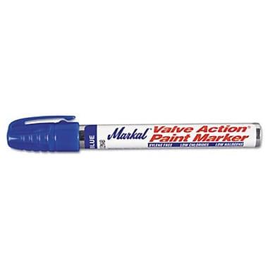 Mrk Valve Action Paint Marker, Blue (AZTY10076)
