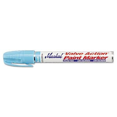 Mrk Valve Action Paint Marker, light Blue (AZTY10078)