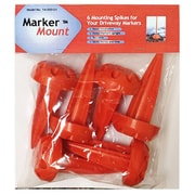Rebound Driveway Marker 14-001-06 Orange Plastic Marker Mount (TRVAl39990)