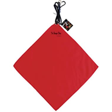 Fu len Holdings USA TCO00230 Red Safety Flag With Bungee - 18 x 18 In. (ORGl48891)