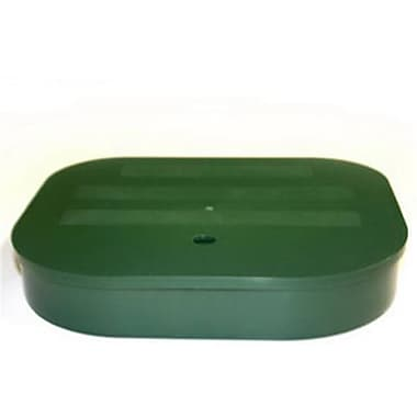 DSD International 810-15-GN6 8 x 10 x 5 in. High, Weight Base Container - Pack Of 6 (TRVAl54291)