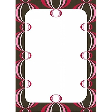 WallPops loopy Dry-Erase Board - Red Pack of 2 (BSHF027)