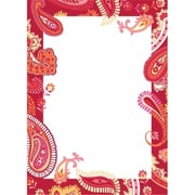 WallPops Paisley Please Dry-Erase Board - Red Pack of 2 (BSHF022)