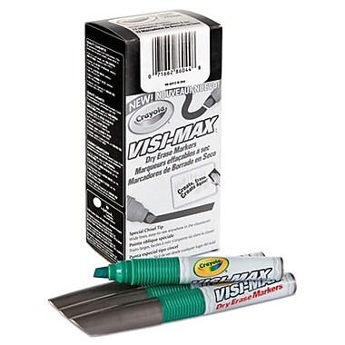 Crayola Dry Erase Marker, Chisel Tip - Green (AZTY03742)