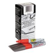 Crayola Dry Erase Marker, Chisel Tip - Red (AZTY03740)