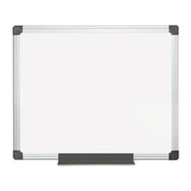 Bi-Silque Visual Communication Products Value lacquered Steel Magnetic Dry Erase Board, 24 x 36, White (AZTY02189)