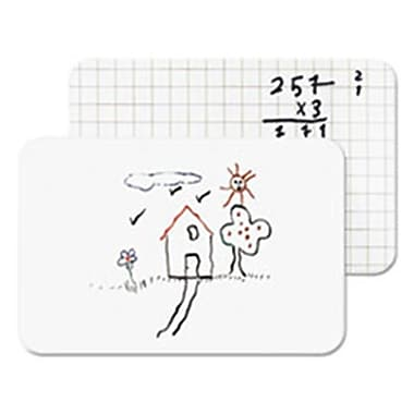 Bi-Silque Visual Communication Products Frameless Dry Erase lap Board, 11.87 x 8.25 in. (AZTY02194)