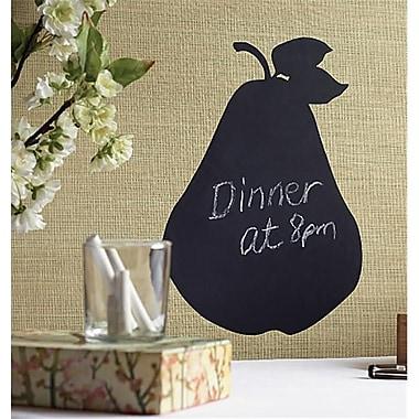 Wallies Wallcoverings Peel and Stick Pear Chalkboard Accent (WlWC013)