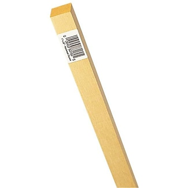 Waddell Mfg. .63in. x 36in. Hardwood Square Dowel -Pack of 9 (JNSN27908)