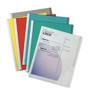 C-line Products- Inc. Report Covers- w- Binding Bars- Clear Vinyl (SPRCH17345)