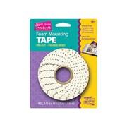 Super Glue Corp. Foam Mounting Tape- Pre-Cut- Pack of 12 (SUPGlUE104)